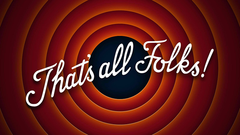 that's all folks cartoon ending