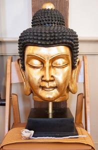 buddha head in bold