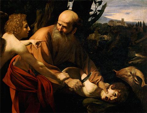 renaissance painting of abraham and isaac