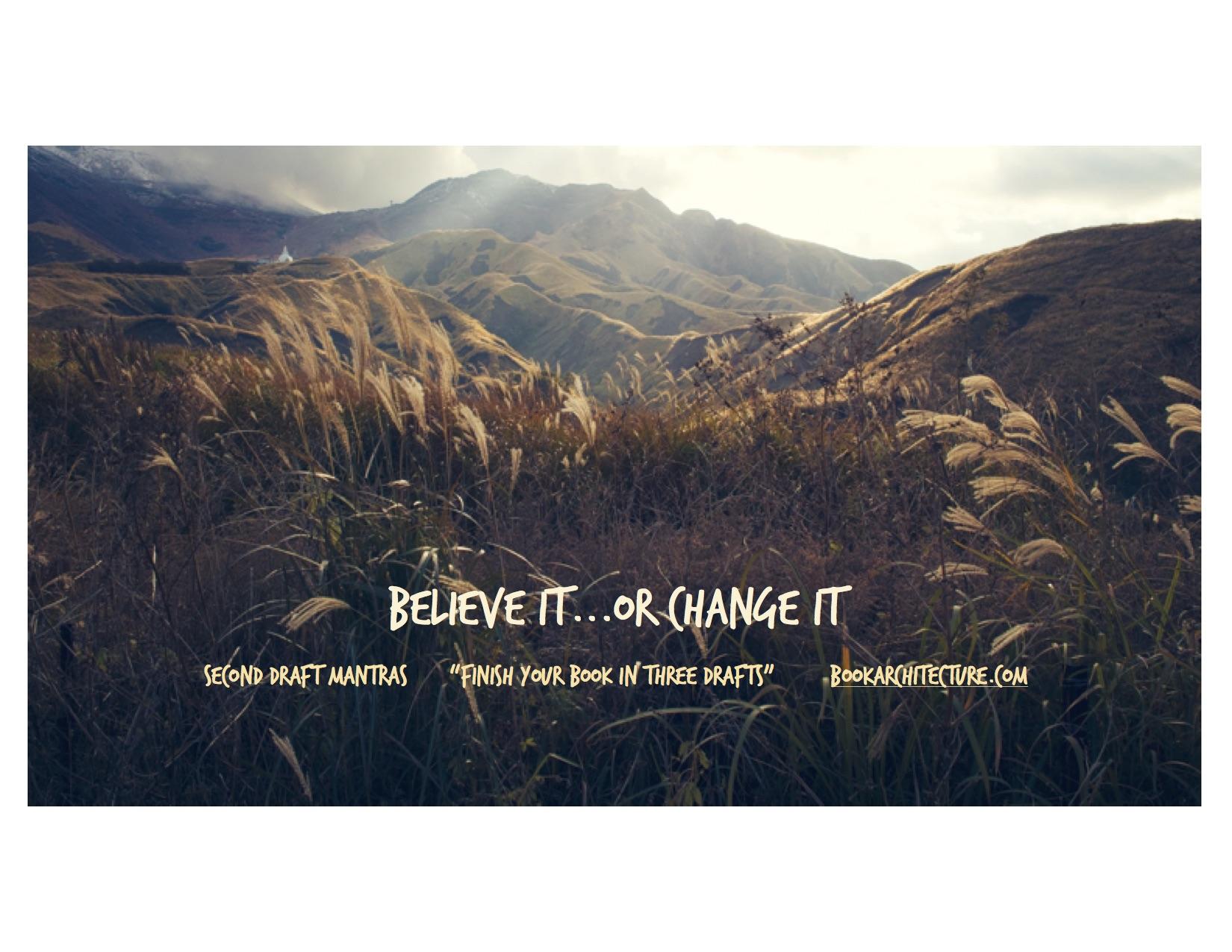 Believe It field Unsplash